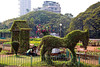 "Mumbai's ""Hanging Garden"" is actually a park sitting on 4' of soil on the roof covering a reservoir (called a ""tank"" in the rest of India). (Many Hindu temples have tanks associated with them. They nearly always have a temple as an island in the water and many have an annual festival where a highly-decorated floating temple with local deities is propelled around the tank several times.)"