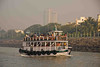 A ferry like ours on the one-hour voyage to the Elephamta Caves