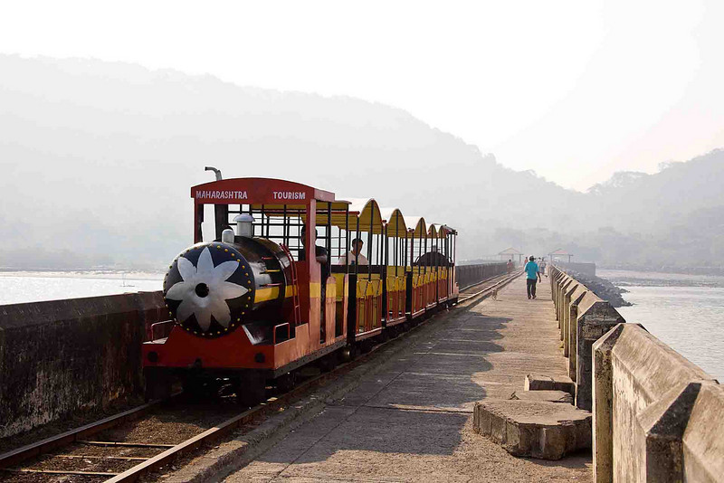 The Diesel train to Elephanta Caves. Rs.10 (US 25 ¢) each way, and worth every penny.