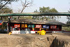 Restaurant at the Elephanta Caves. Looks like some L.A. Indian eateries