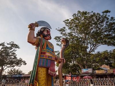 Statue of Mahishasura, Chamundi Hill, Mysore