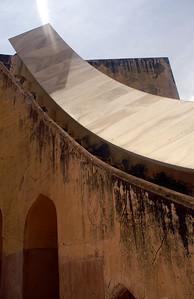 Sundial at Jantar Mantar in Jaipur