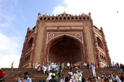 Victory gate of Fatehpur Sikri