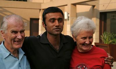 Alan, Sam & Jenny in Delhi on our last day