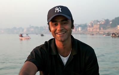 Our fearless tour leader, Sam, at Varanasi