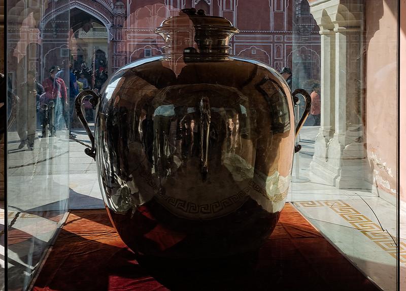 Gangajali Silver Jar