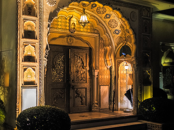 Raj Palace Entrance