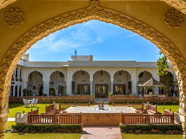 Raj Palace Courtyard