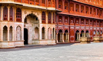 City Palace complex. Jaipur,Rajasthan,India