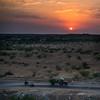 Sunset in the That Desert