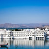 Lake Palace Hotel in Pichola Lake, Udaipur, Rajasthan, India