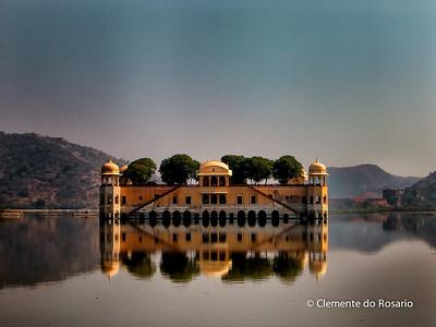 Jal Mahal, Water Palace, Jaipur, Rajasthan, India