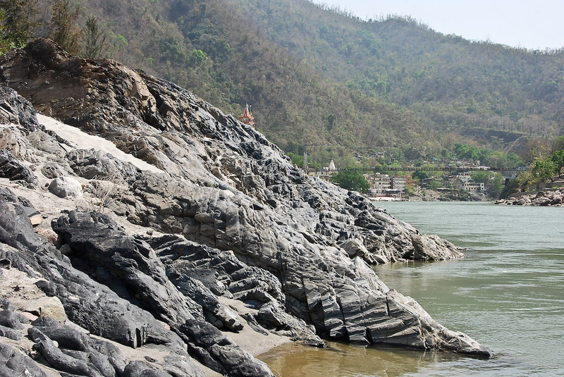 My swimming spot in the Ganges