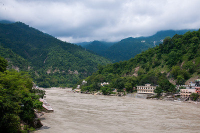 the Ganges (Ganga) in Rishikesh