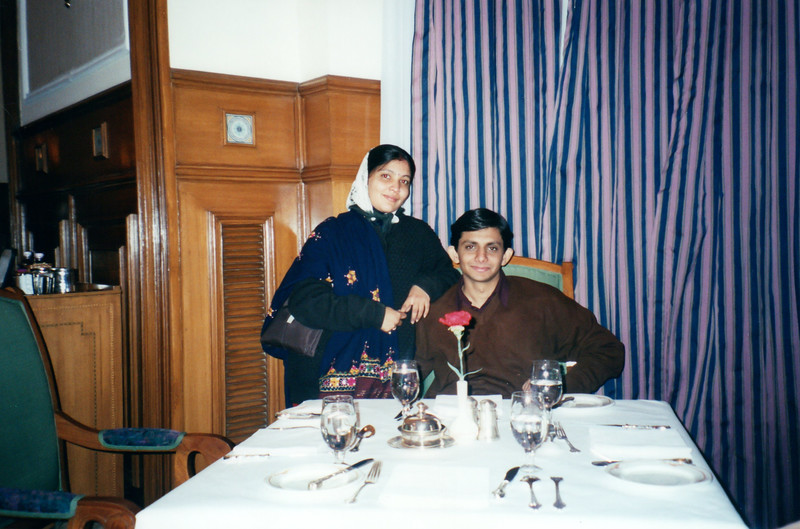 Dinner at The Oberoi Cecil, Shimla