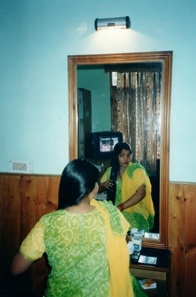 At Hotel room, Manali