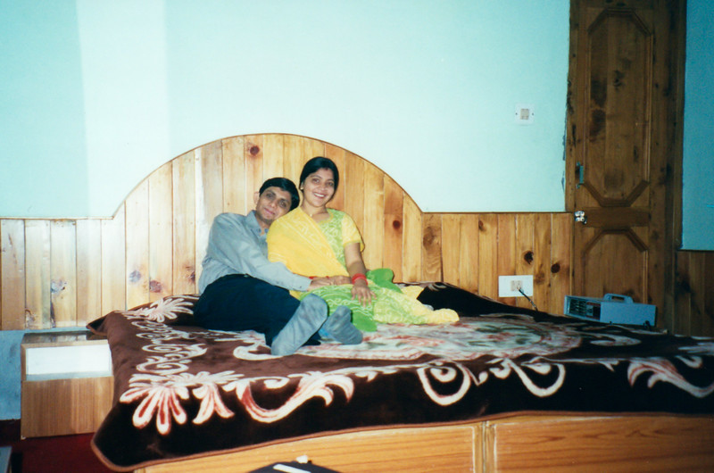 At Hotel room, Manali
