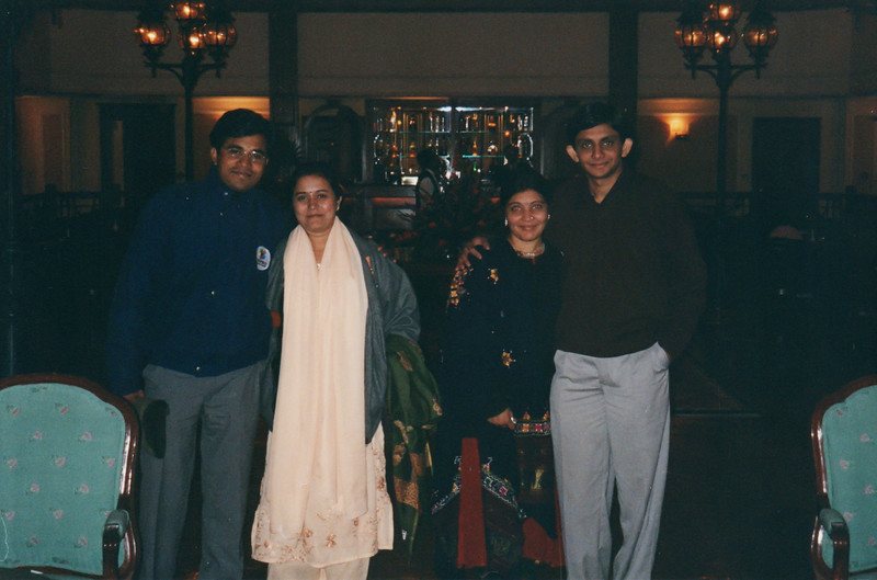 At The Oberoi Cecil, Shimla