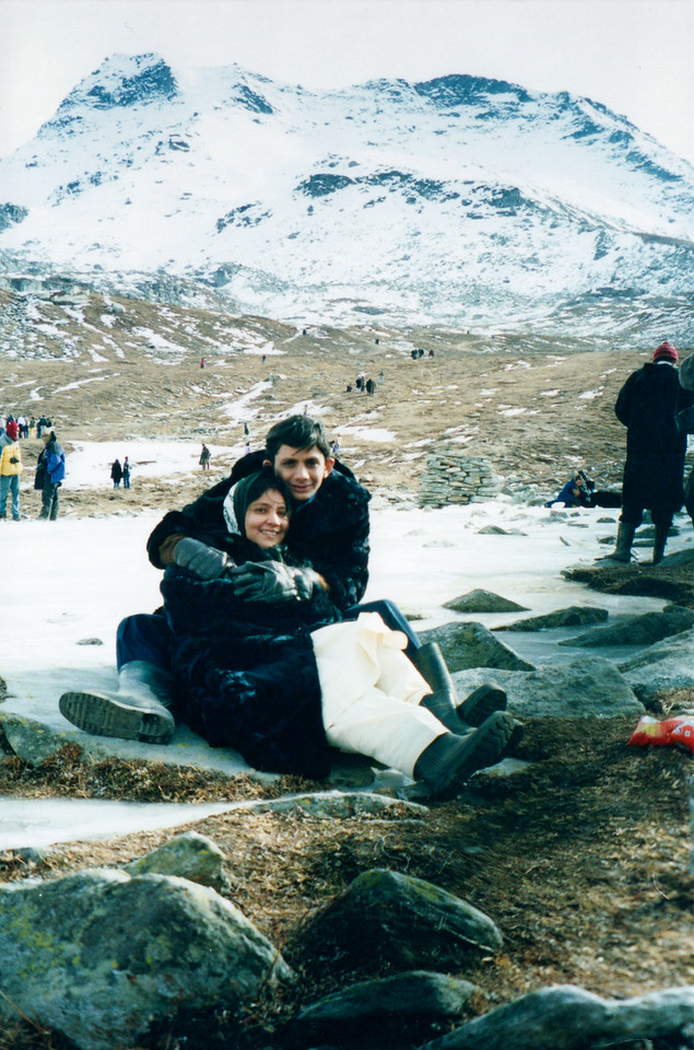 At Rohtang Pass, Elevation 3,978 m (13,050 ft)