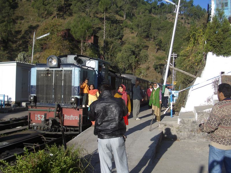"The ""Toy  train"" to Shimla"