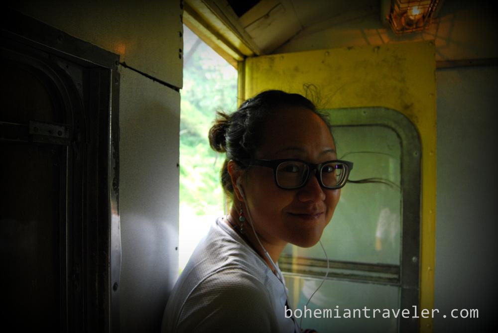 Juno on the Shimla Toy Train