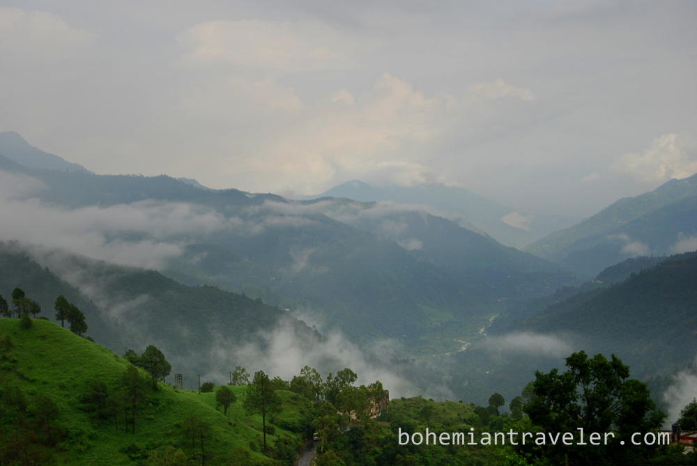 Scenery from the Shimla Toy Train