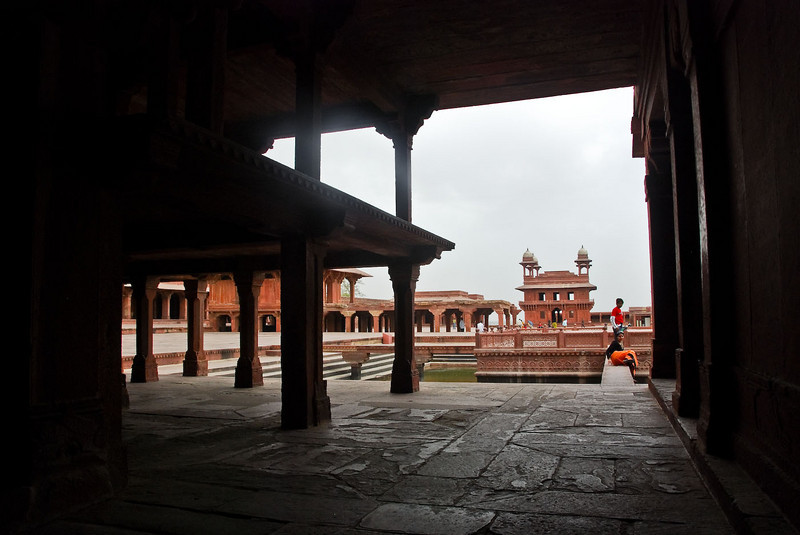 At Fatehpur Sikri