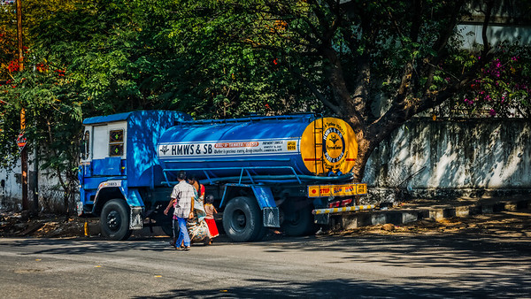 HMWS & SB Water Tanker