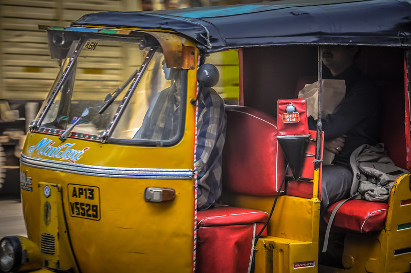 Autorickshaw on Rd Number 12