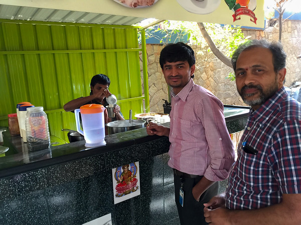 At the Vindhu Tea Stall Again