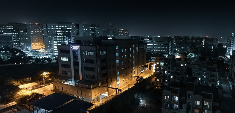 Hitech City at Night