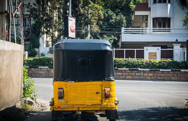 Autorickshaw on Kavuri Hills Rd