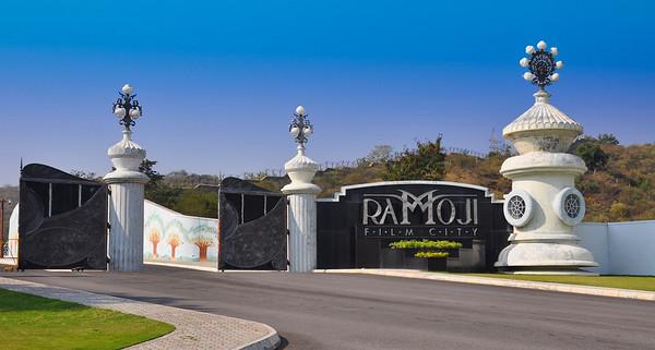 Gates into Ramoji Film City