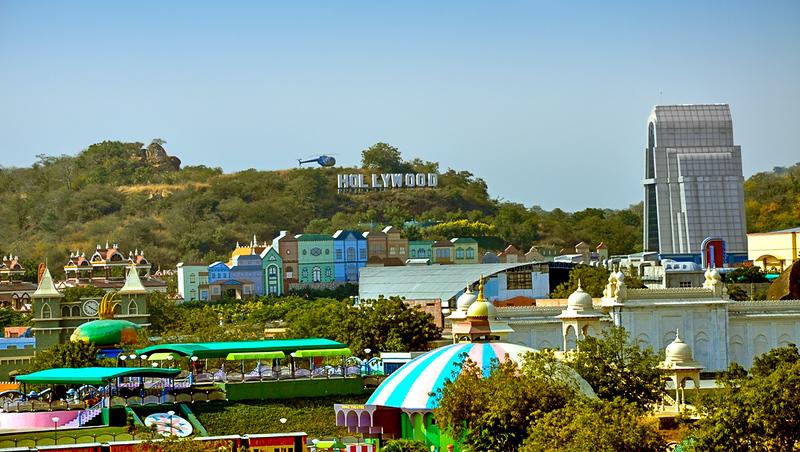 View from Ramoji Hawa Mahal