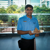 Prathap Delivering Geeta's Breakfast