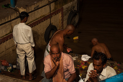 Bathing Dashashwamedh Ghat in the Ganges