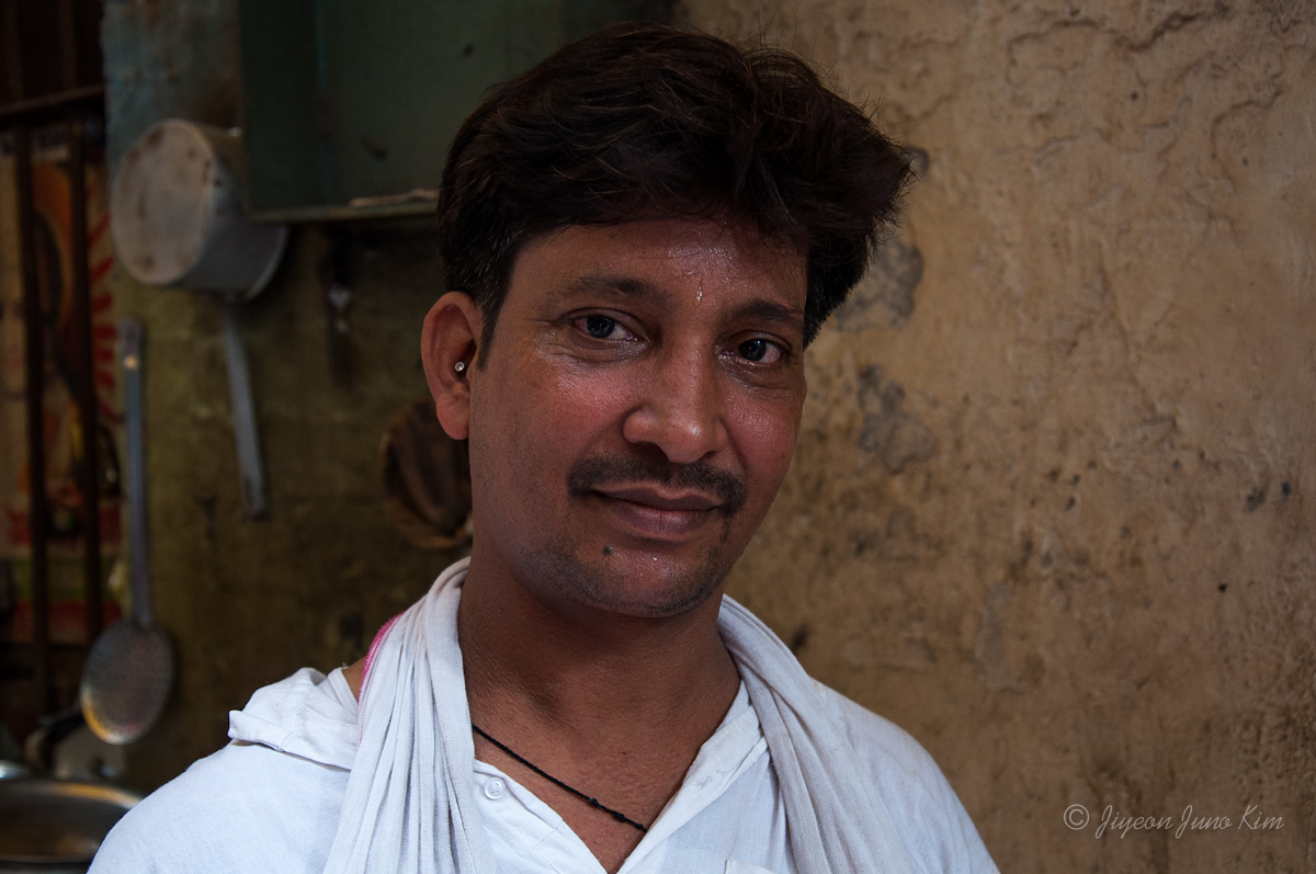 Chai maker (his store has been here for 70 years since his grandfather)