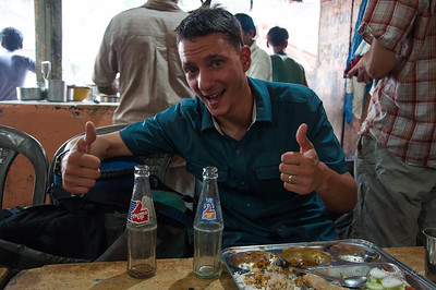 Thumbs up drink in India