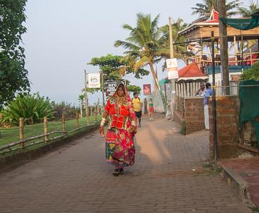 Kvinde fra Rajastan området.
