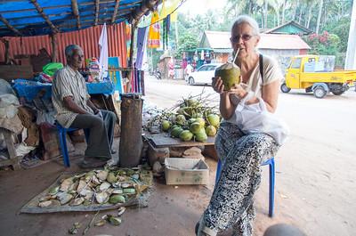 Så er det tid til en kokosnøddepause.