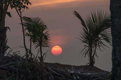 1. week in Varkala Beach, India