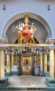 Samme templet - anden indgang