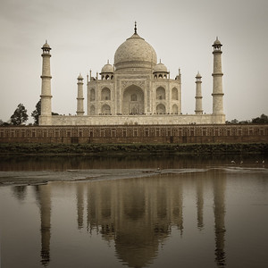 Taj Mahal From Across the River
