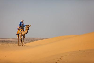 A Surreal evening at the Sam Sand Dunes of the Thar Desert (Jaisalmer, India)