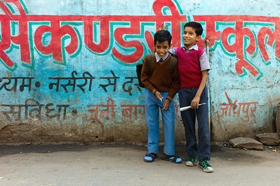 Buddies in Jodhpur, India.