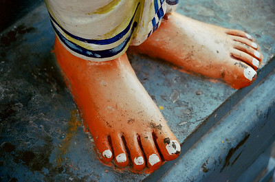 Temple Feet, Chennai, India 2006