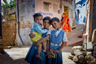 School Kids.  Jodhpur, India.