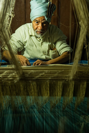 The Silk Weaver (Varanasi, India)