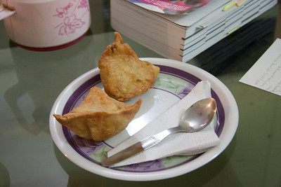 Samosa's! The first thing I did when I arrived in my hotel was order two of these babies. I wish I could find these in Japan.