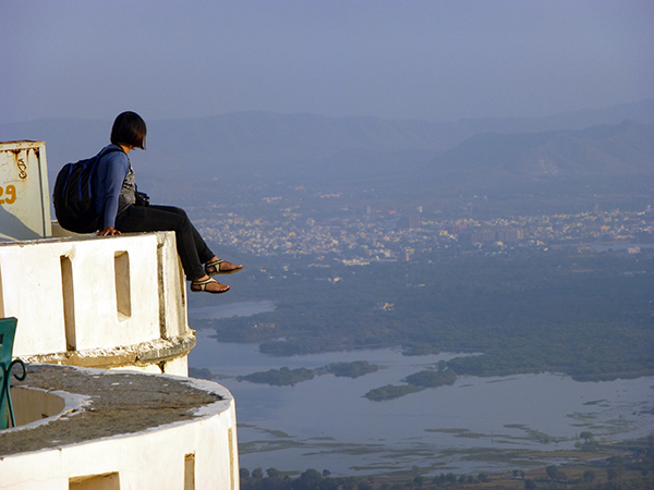 View from Monsoon Palace, Udaipur